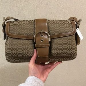 "Coach - Miniature ""C"" satchel"